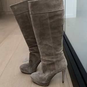 Brian Atwood suede boots